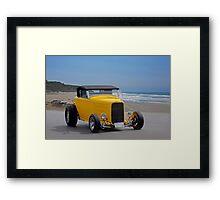 1932 Ford HiBoy Roadster Framed Print