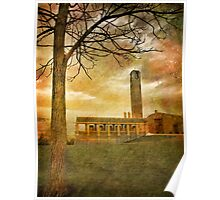 The Tree and the Bell Tower Poster