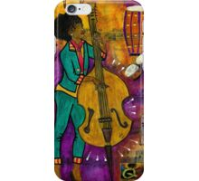 That Sistah on the Bass iPhone Case/Skin
