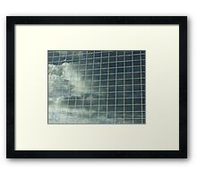 Wall mirror Framed Print