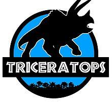 Jurassic World: Triceratops by marslegarde