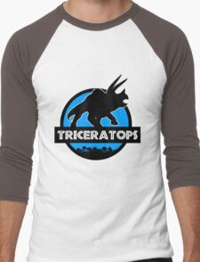 Jurassic World: Triceratops Men's Baseball ¾ T-Shirt
