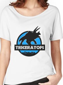 Jurassic World: Triceratops Women's Relaxed Fit T-Shirt