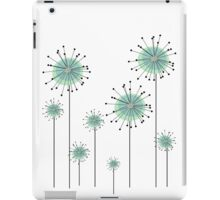 Funky field of flowers iPad Case/Skin
