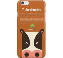 Save Cows iPhone Case/Skin