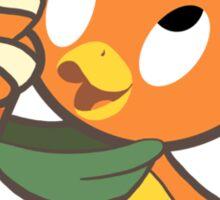 Disney Florida Orange Bird Sunshine Tree Terrace Sticker