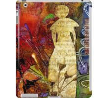 ROSEBUD The Angel of Sweet Songs iPad Case/Skin