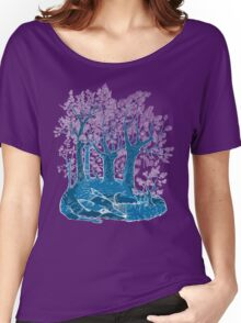 Know the fox for its forest. Women's Relaxed Fit T-Shirt