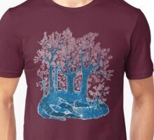 Know the fox for its forest. Unisex T-Shirt