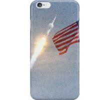 Lift Off - Apollo 11 Artwork / Digital Painting iPhone Case/Skin