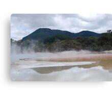 Thermal wonderland  Canvas Print