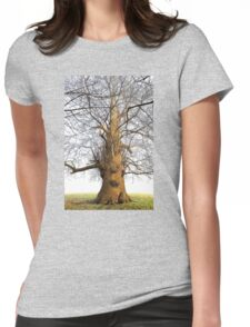 'Old Oak' Womens Fitted T-Shirt