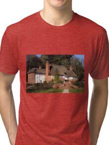 The Drum Inn, Cockington Village Tri-blend T-Shirt