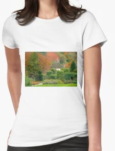 Autumn at Cockington Womens Fitted T-Shirt