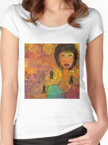 Emotional Truth Women's Fitted Scoop T-Shirt