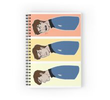 the many faces of leonard mccoy Spiral Notebook
