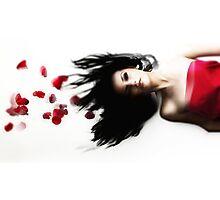 Suspended Romance Photographic Print