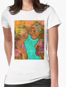 This Artist Speaks Truth Womens Fitted T-Shirt