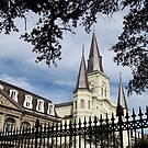 Inside Jackson Square by Kay  G Larsen