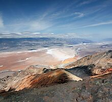 Dante's View above Badwater Basin in Death Valley National Park by Martin Lawrence