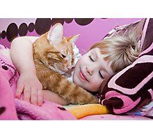 A Child's Love Photographic Print