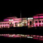 Night Life at Parliament House by Trish Kinrade