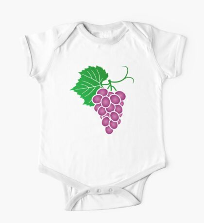 Grape One Piece - Short Sleeve