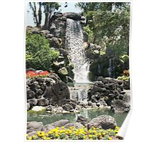 Cypress Gardens Waterfalls Poster