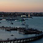 The Geelong Waterfront at Sunset by Trish Kinrade