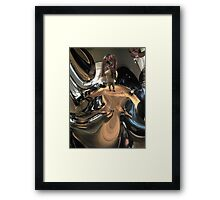 Mirror Universe Self Portrait   Framed Print