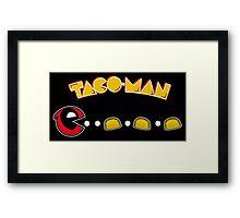 TACO-MAN Framed Print