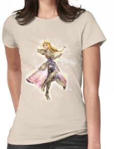 Princess Zelda ~ Razzle Dazzle Womens Fitted T-Shirt