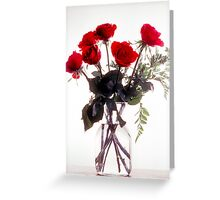 Roses in High Key Greeting Card