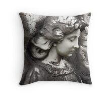 Kathleen's Angel Throw Pillow