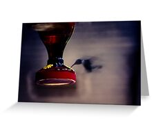 Hum-blur Greeting Card