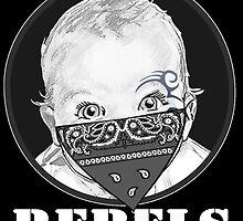 Baby Rebels Bandana by ripmantgm