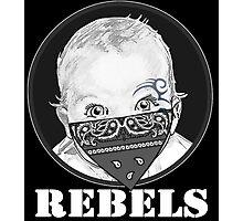 Baby Rebels Bandana Photographic Print