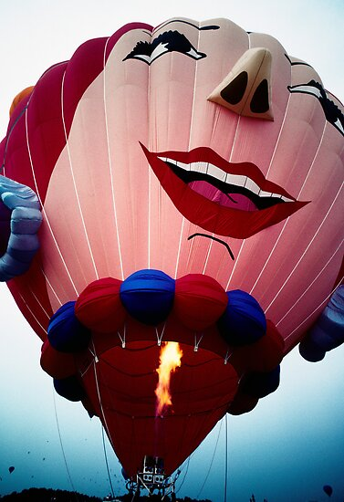 Laughing Balloon by Jim Haley