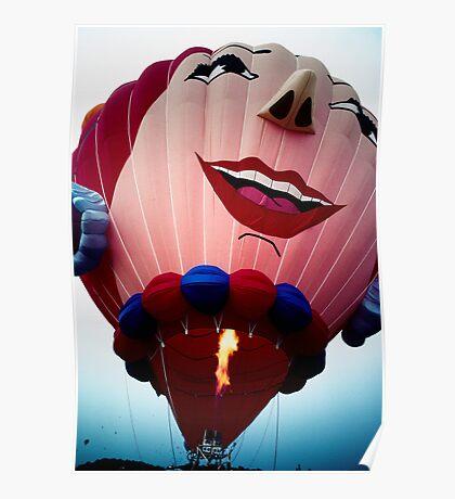Laughing Balloon Poster