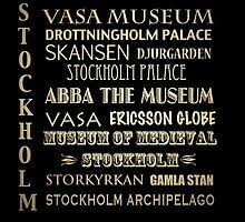 Stockholm Famous Landmarks by Patricia Lintner