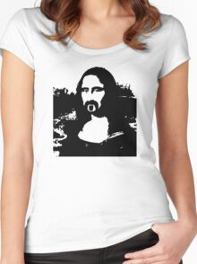 Frank Zappa Mona Lisa Women's Fitted Scoop T-Shirt