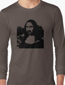 Frank Zappa Mona Lisa Long Sleeve T-Shirt