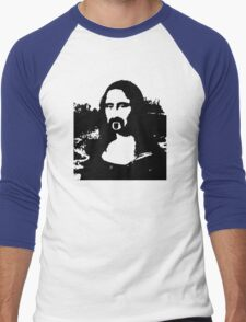 Frank Zappa Mona Lisa Men's Baseball ¾ T-Shirt