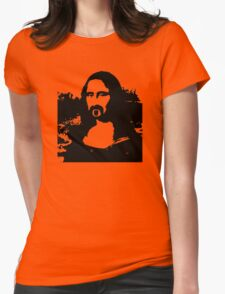 Frank Zappa Mona Lisa Womens Fitted T-Shirt