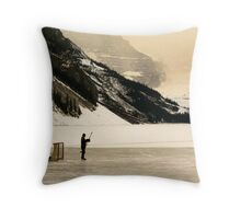 The Goalkeeper Throw Pillow