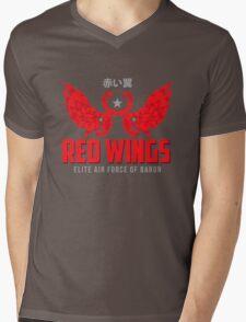 Baron Red Mens V-Neck T-Shirt