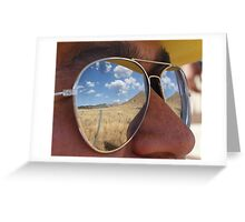 shades with land Greeting Card