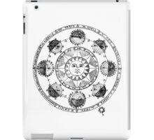 Medieval Astronomical Chart of Planets iPad Case/Skin