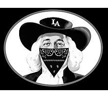 L.A Quaker bandana Photographic Print