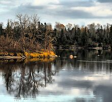 Beautiful Pinawa, Manitoba by Teresa Zieba